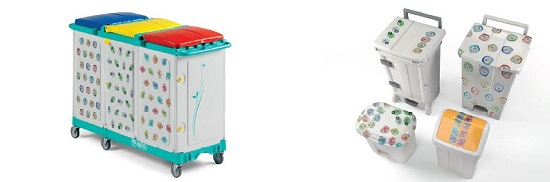 DROP & GO Sistemi di raccolta differenziata dei rifiuti