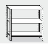 Série meubles à étagères hauteur 150 cm