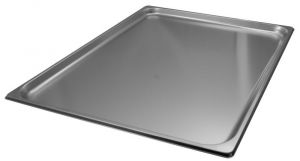 Acero de contenedores Gastronorm VGGST2/1H20 2 / 1 650x530 mm x H20