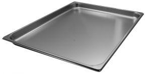GST2/1P040  Contenitore Gastronorm 2/1 h40 mm in acciaio inox AISI 304