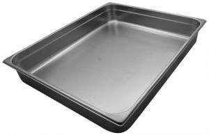 GST2/1P100 Contenitore Gastronorm 2/1 h100 mm in acciaio inox AISI 304