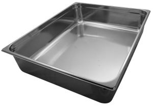GST2/1P200 Gastronorm Container 2 / 1 h200 mm Stainless steel AISI 304