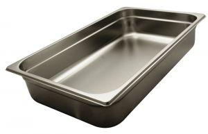 GST1/1P100  Contenitore Gastronorm 1/1 h100 mm in acciaio inox AISI 304