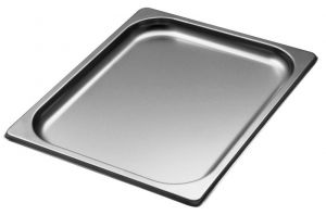 GST1/2P020 Gastronorm Container 1 / 2 h20 mm stainless steel AISI 304