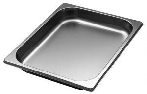GST1/2P040 Gastronorm Container 1 / 2 h40 mm stainless steel AISI 304