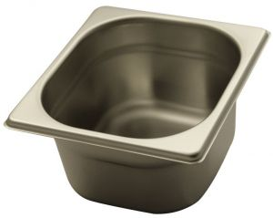 GST1/6P100 Gastronorm Container 1 / 6 h100 stainless steel AISI 304