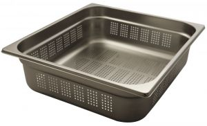 GST2/3P100 Gastronorm Container 2 / 3 h100 stainless steel AISI 304