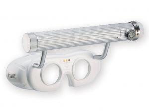 GI-31207 - OCCHIALI NISTAGMO LED A BATTERIA - bianchi