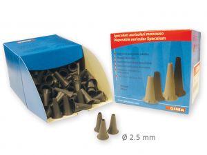 GI-31485 - MINI SPECULUM MONOUSO diam. 2,5mm-grigi
