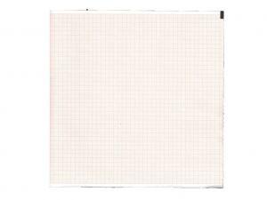 GI-32954 - Carta termica ECG 210x300 mmxm x 200 pacco griglia arancio