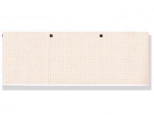 GI-32958 - Carta termica ECG 112x100 mmxm x 300 pacco griglia arancio