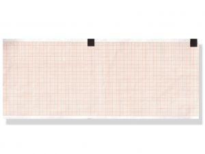 GI-32965 - Carta termica ECG 110x140 mm - pacco da 143 griglia arancio
