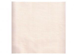 GI-32967 - Carta termica ECG 210x30 mmxm - rotolo griglia arancio