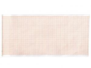 GI-32970 - Carta termica ECG 110x20 mmxm - pacco griglia arancio