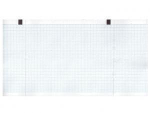 GI-32972 - Carta termica ECG 130x27 mmxm - rotolo griglia blu