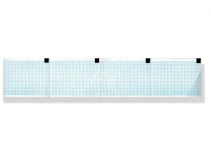 GI-32977 - Carta termica ECG 60x75 mm x 250 - pacco griglia blu