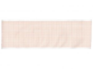 GI-32980 - Carta termica ECG 90x28 mmxm - rotolo griglia arancio
