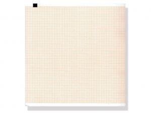 GI-32985 - Carta termica ECG 210x300 mmxm - pacco griglia arancio