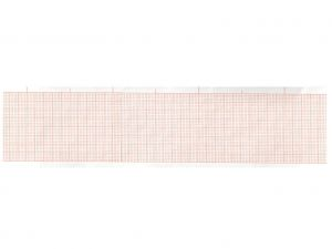 GI-32988 - Carta termica ECG 50x30 mmxm - rotolo griglia arancio