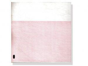 GI-32999 - Carta termica ECG 210x300 mmxm - pacco griglia arancio