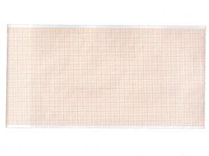 GI-33002 - Carta termica ECG 112x27 mmxm - rotolo griglia arancio