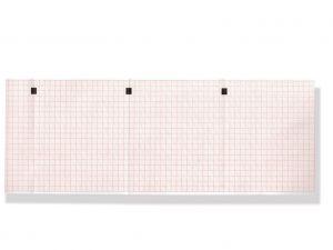 GI-33003 - Carta termica ECG 112x90 mmxm - pacco griglia arancio
