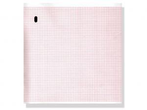 GI-33011 - Carta termica ECG 215x280 mmxm - pacco griglia arancio
