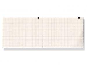GI-33013 - Carta termica ECG 110x140 mmxm - pacco griglia arancio