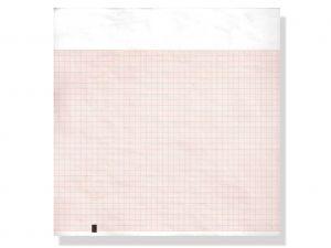GI-33019 - Carta termica ECG 210x300 mmxm - pacco griglia arancio
