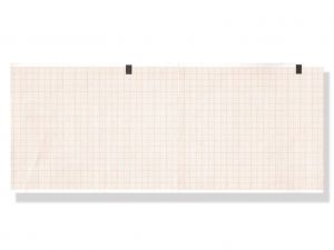 GI-33020 - Carta termica ECG 108x140 mmxm - pacco griglia arancio