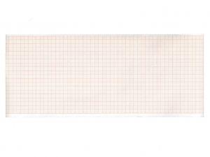 GI-33033 - Carta termica ECG 107x25 mmxm - rotolo griglia arancio