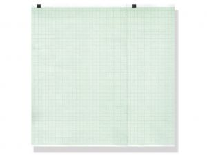 GI-33039 - Carta termica ECG 210x140 mmxm - pacco griglia verde