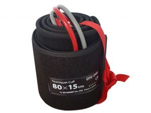 GI-33146 - BRACCIALE DOPPIO 80x15 cm gamba M - rosso