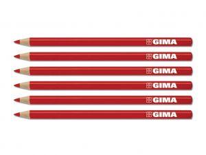 GI-33177 - MATITA DERMATOLOGICA GIMA - rossa