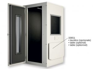 GI-33649 - CABINA AUDIOMETRICA PRO 28 - 96x96x225 cm