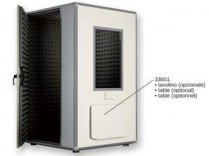 GI-33653 - CABINA AUDIOMETRICA PRO 30 - 132x132x245 cm