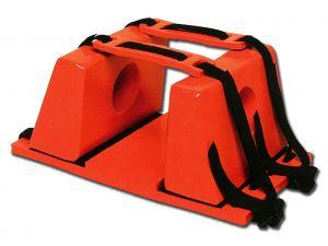 GI-34080 - FERMA TESTA per barelle - arancione