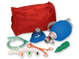 GI-34217 - PALLONE AMBU MARK IV IN SACCA - con accessori