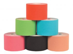 GI-34752 - TAPING KINESIOLOGIA 5 m x 5 cm - mix 6 colori