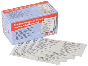 GI-36599 - ALCOMED ALCOHOL PADS - scatola da 100 pads