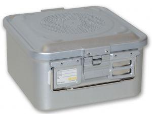 GI-37002 - CONTAINER CON FILTRO piccolo h150 mm - grigio