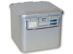 GI-37004 - CONTAINER CON FILTRO piccolo h260 mm - grigio