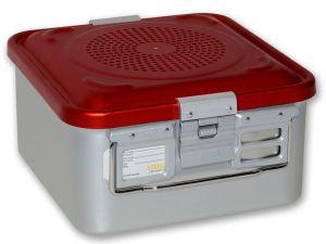 GI-37012 - CONTAINER CON FILTRO piccolo h150 mm - rosso