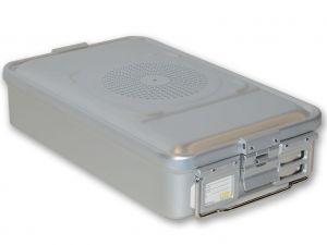 GI-37050 - CONTAINER CON FILTRO medio h100 mm - grigio