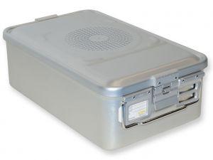 GI-37052 - CONTAINER CON FILTRO medio h150 mm - grigio