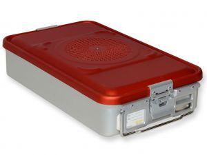 GI-37060 - CONTAINER CON FILTRO medio h100 mm - rosso