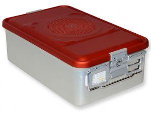 GI-37062 - CONTAINER CON FILTRO medio h150 mm - rosso