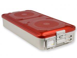 GI-37110 - CONTAINER CON FILTRO grande h100 mm - rosso