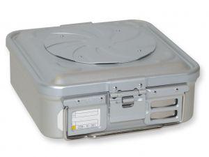 GI-37150 - CONTAINER CON VALVOLA piccolo h100 mm - grigio