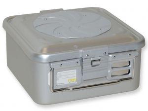 GI-37151 - CONTAINER CON VALVOLA piccolo h135 mm - grigio